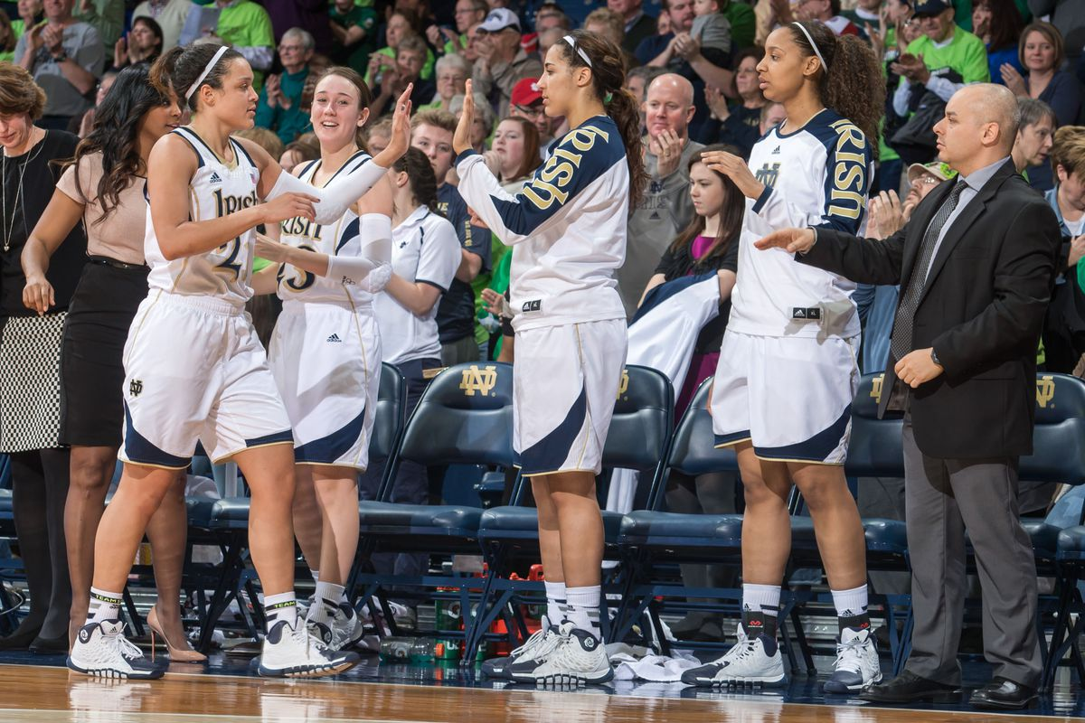 No. 2 Irish women's basketball continues a 27-game undefeated streak.