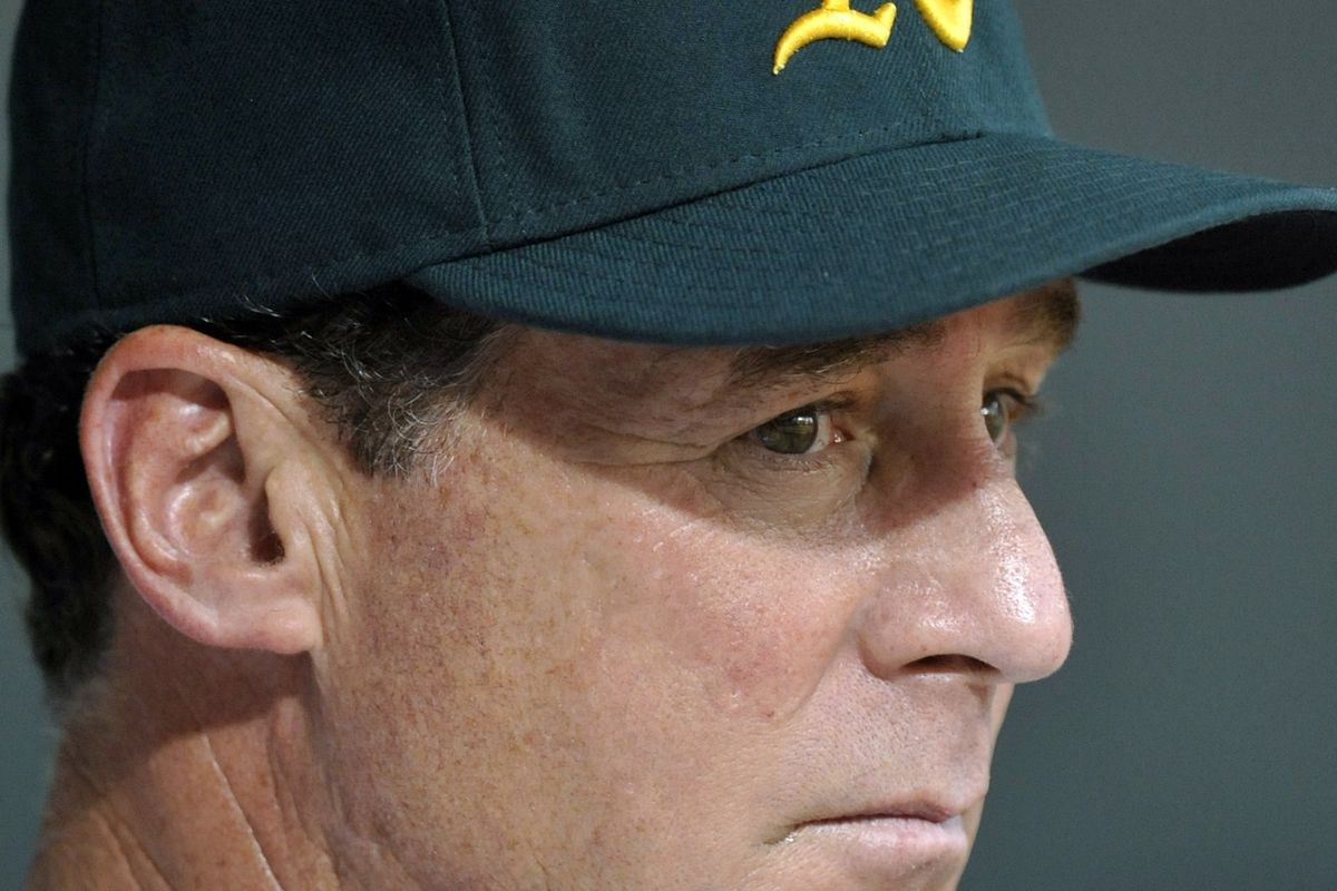 """""""Thank goodness for this early 5-0 lead. All of those close, stressful games were wearing on me."""" - Bob Melvin, fortune's fool"""