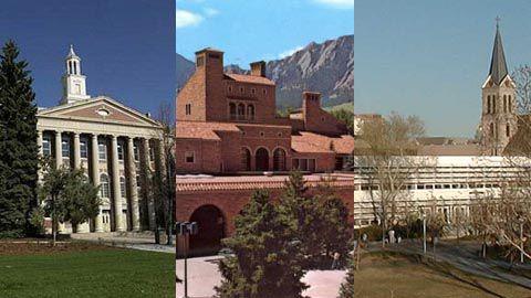 Montage of Colorado colleges