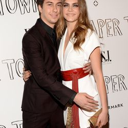 Nat Wolff and Cara Delevingne in Alexandre Vauthier