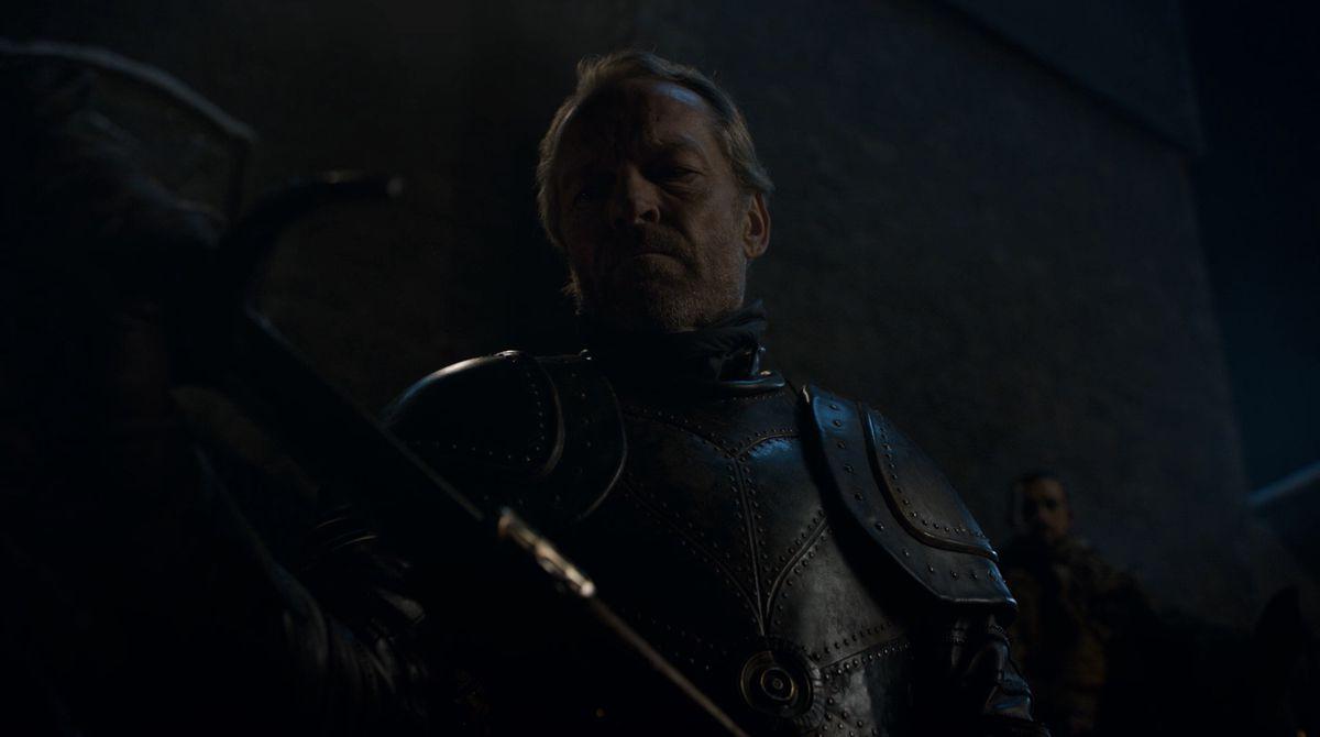 Game of Thrones S08E02 Jorah gets a sword