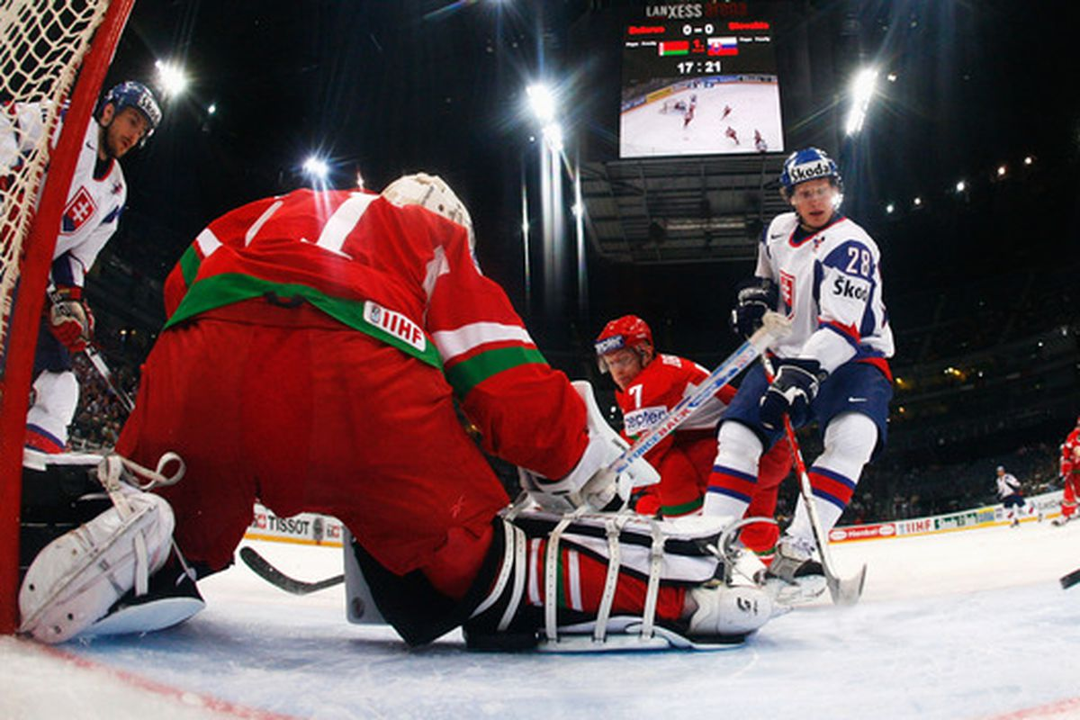 Richard Panik will once again lead Slovakia at this year's IIHF U20 World Junior Championships in Buffalo and Niagara, New York.  (Photo by Martin Rose/Bongarts/Getty Images)