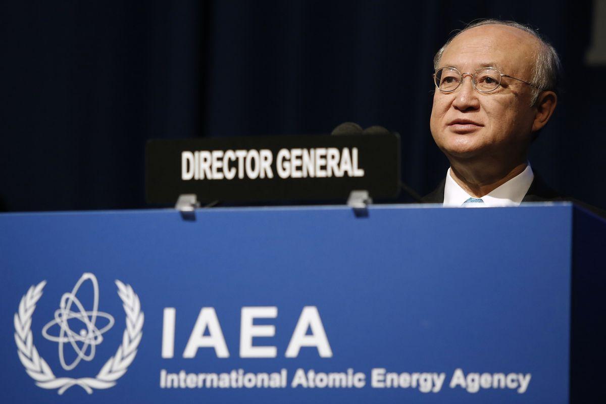 IAEA Director-General Yukiya Amano