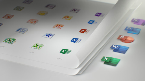 Microsoft's new Office icons are part of a bigger design