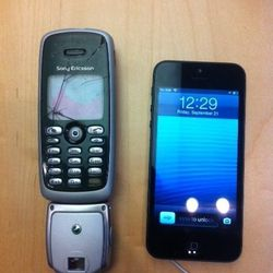 """The """"Phone"""" next to the iPhone 5"""