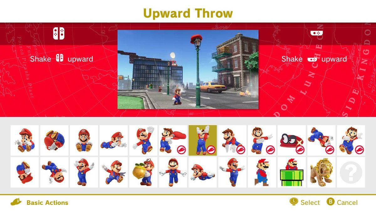 upward throw