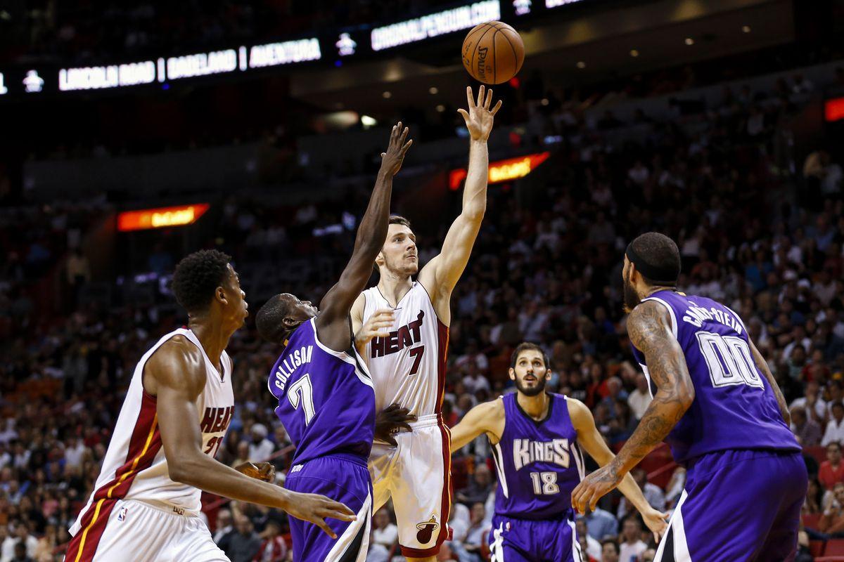 Goran Dragic is shooting a lower percentage on attempts at the rim than last season