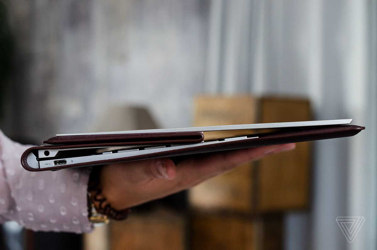 HP's new leather Spectre Folio laptop tries to reinvent the