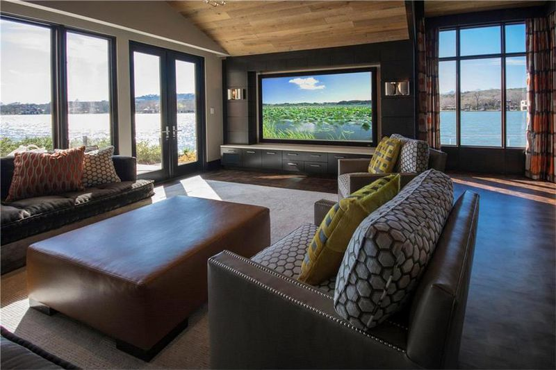 home media room designs. This understated but elegant viewing room is in a home with price that s  also been reduced by 600 000 though it still twice the of Super Bowl would be perfect one these 6 Austin media