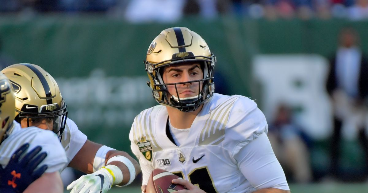 can redshirt senior david blough add a jolt of youth to