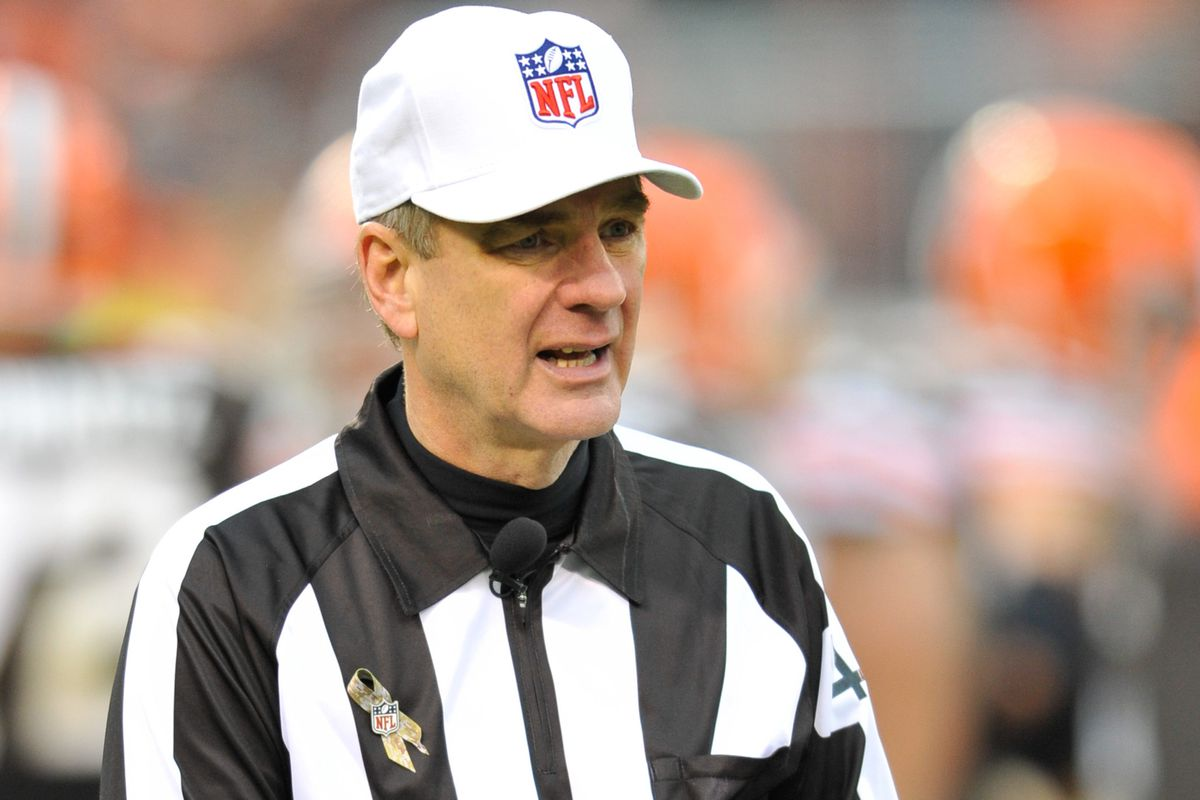 Jeff Triplette To Officiate Bengals And Chargers Cincy