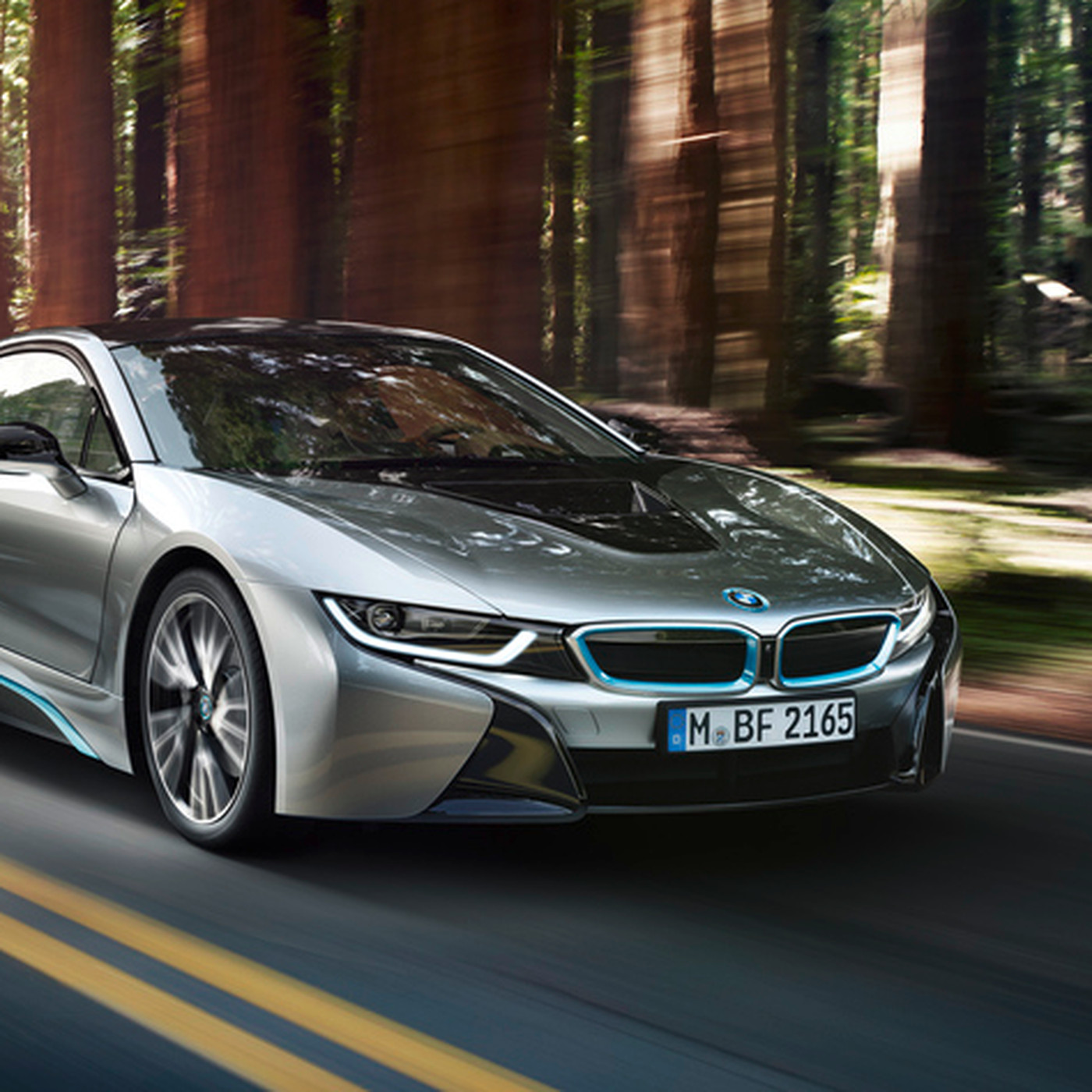 Bmw Unveils The Production I8 A Hybrid Supercar To Challenge Porsche And Ferrari The Verge