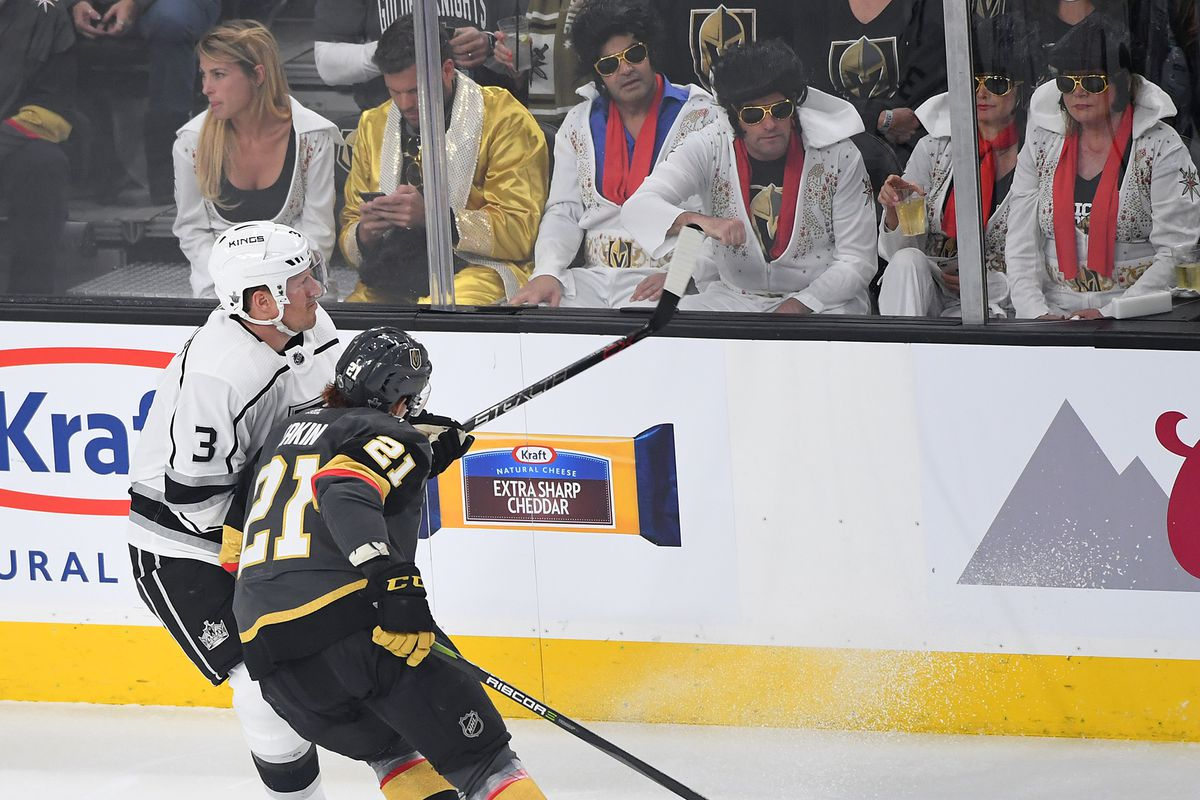 Game 2 La Kings Vegas Golden Knights Start Time Tv