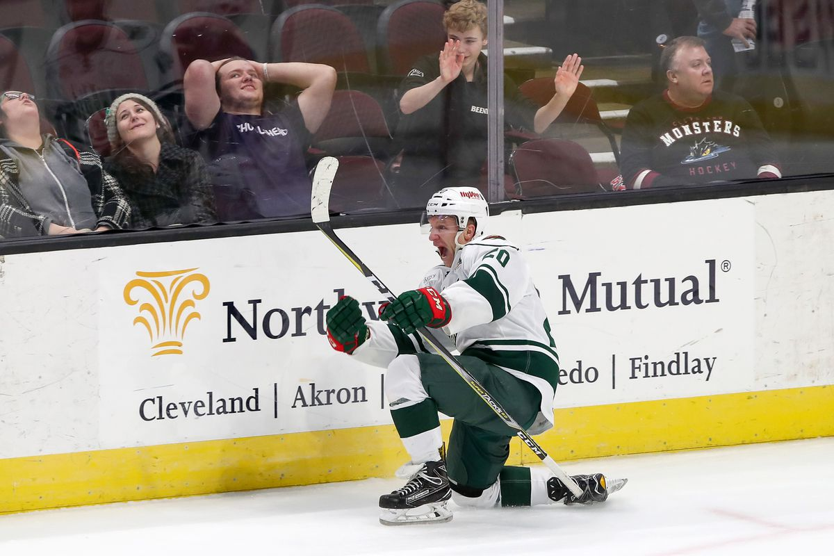 AHL: JAN 25 Iowa Wild at Cleveland Monsters