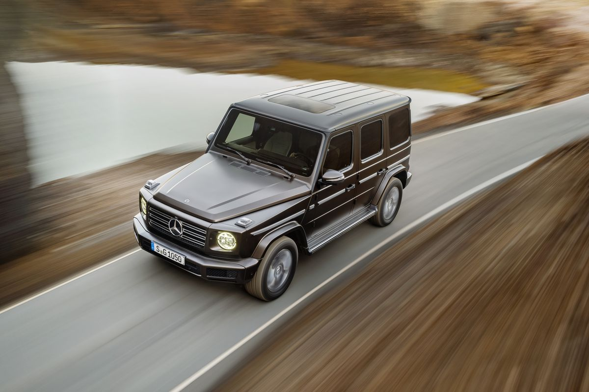 New Mercedes G Class SUV makes global debut - Guess in who's presence?