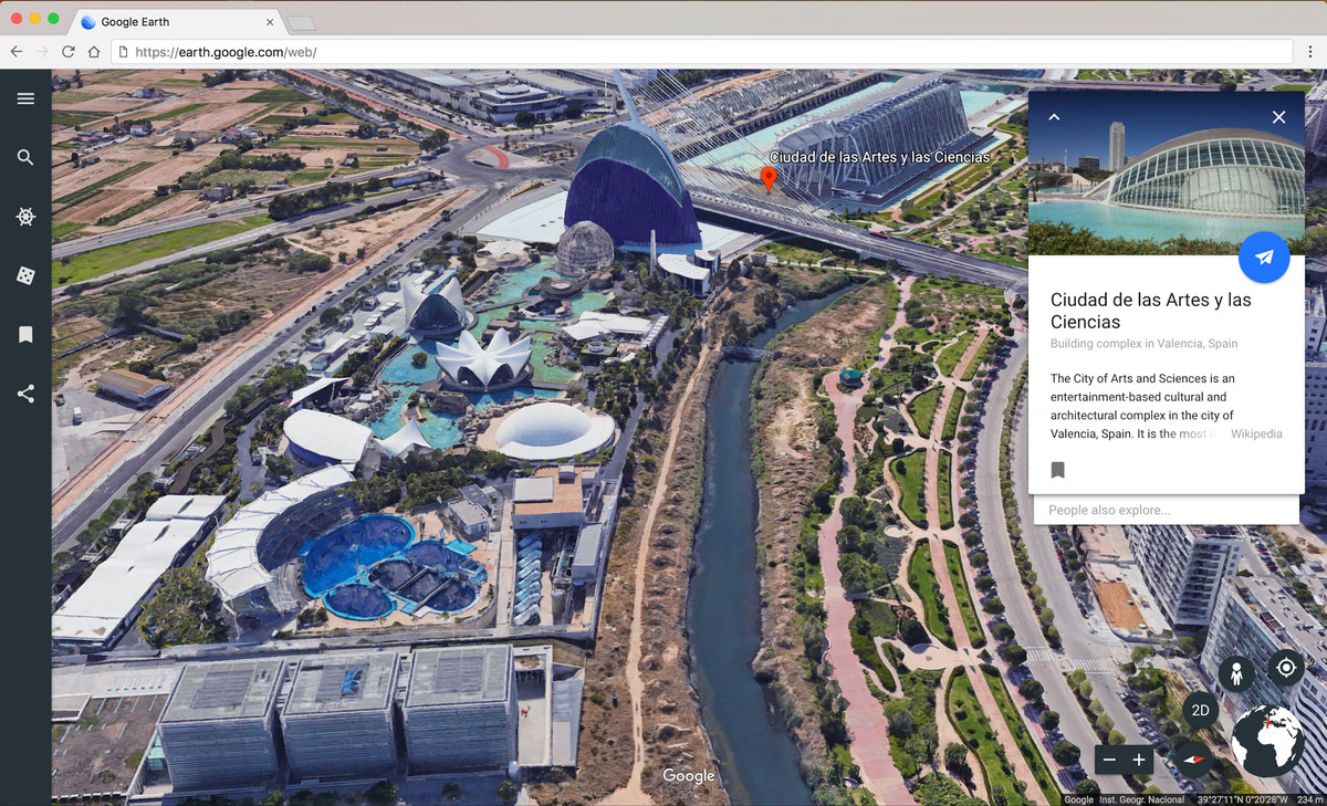 Redesigned Google Earth brings guided tours and 3D view to