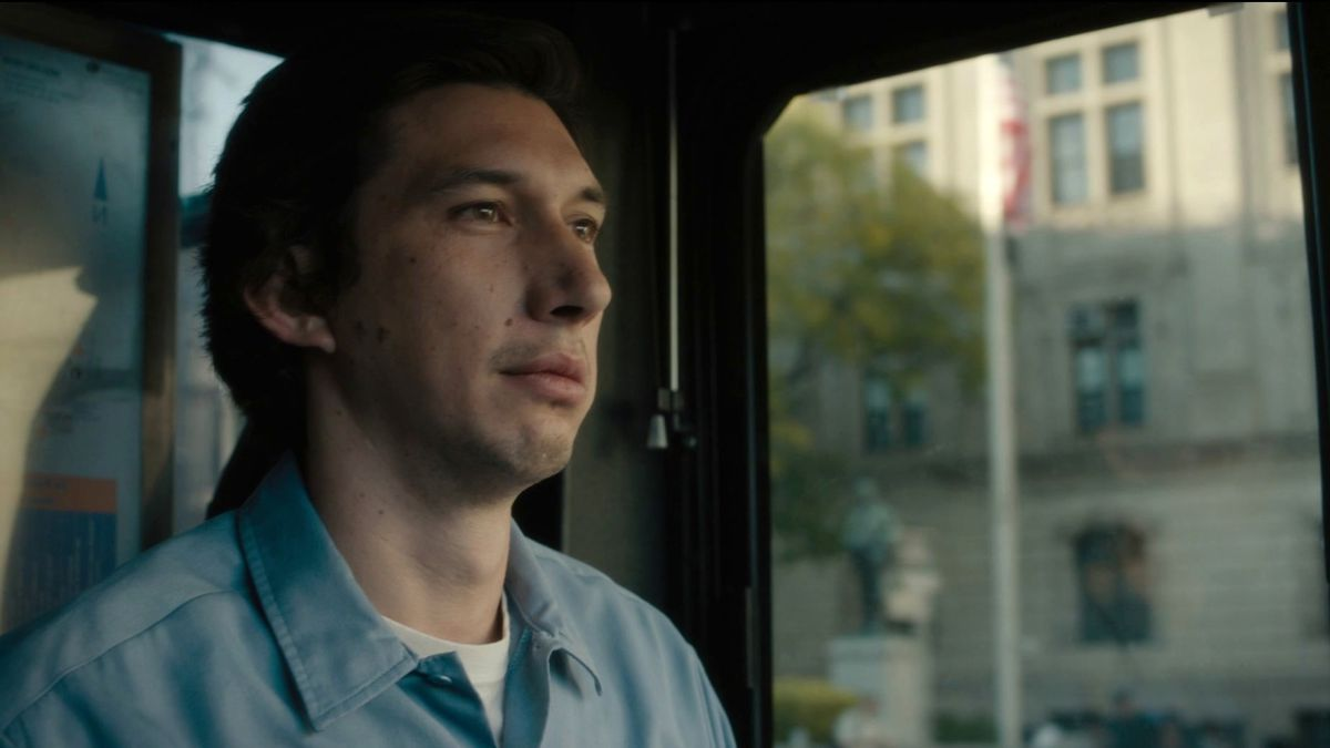 Adam Driver as the bus driving poet Paterson