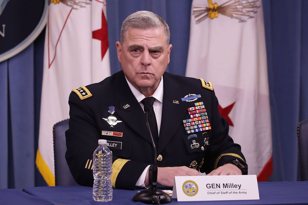 Trump names Army Gen  Mark Milley as new Joint Chiefs chair