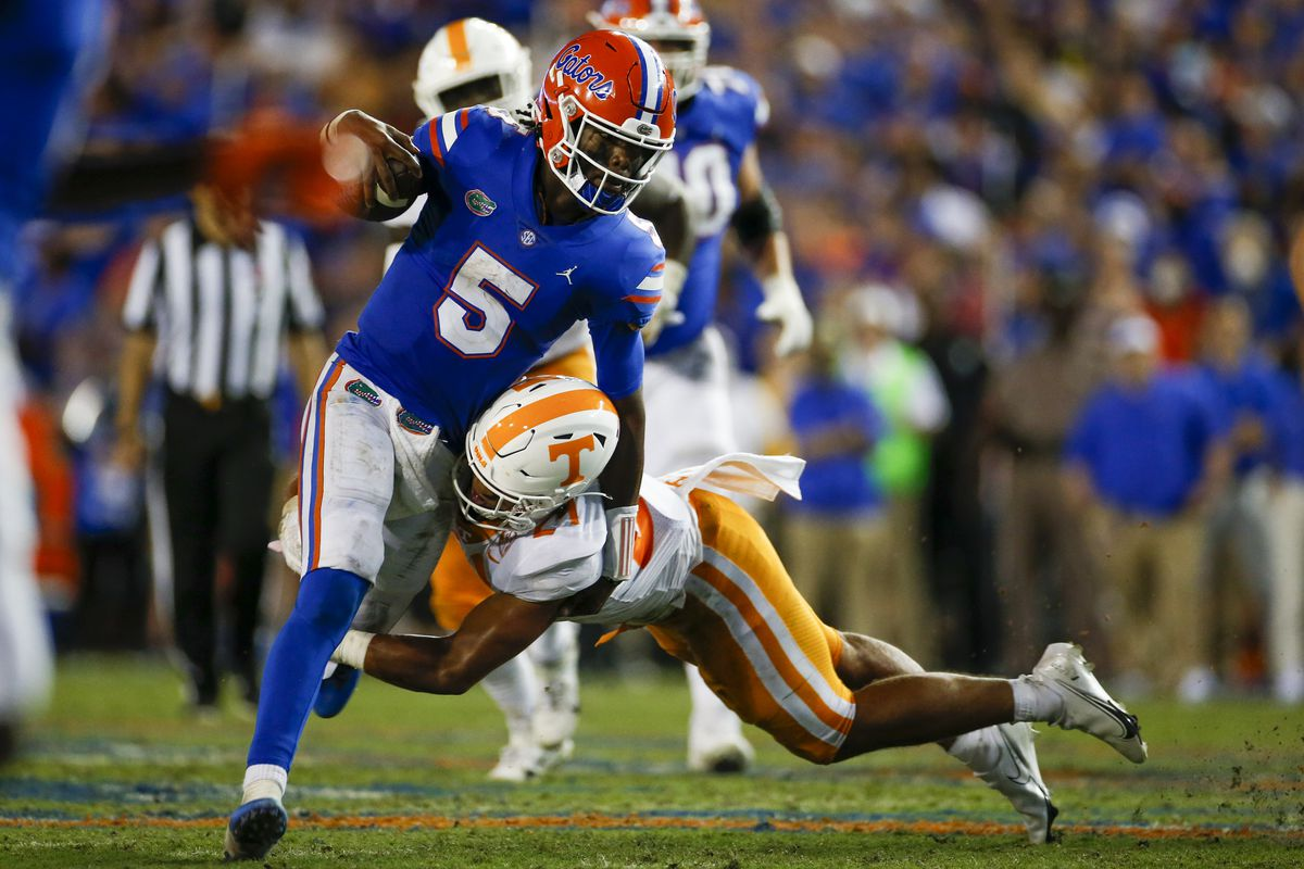 COLLEGE FOOTBALL: SEP 25 Tennessee at Florida