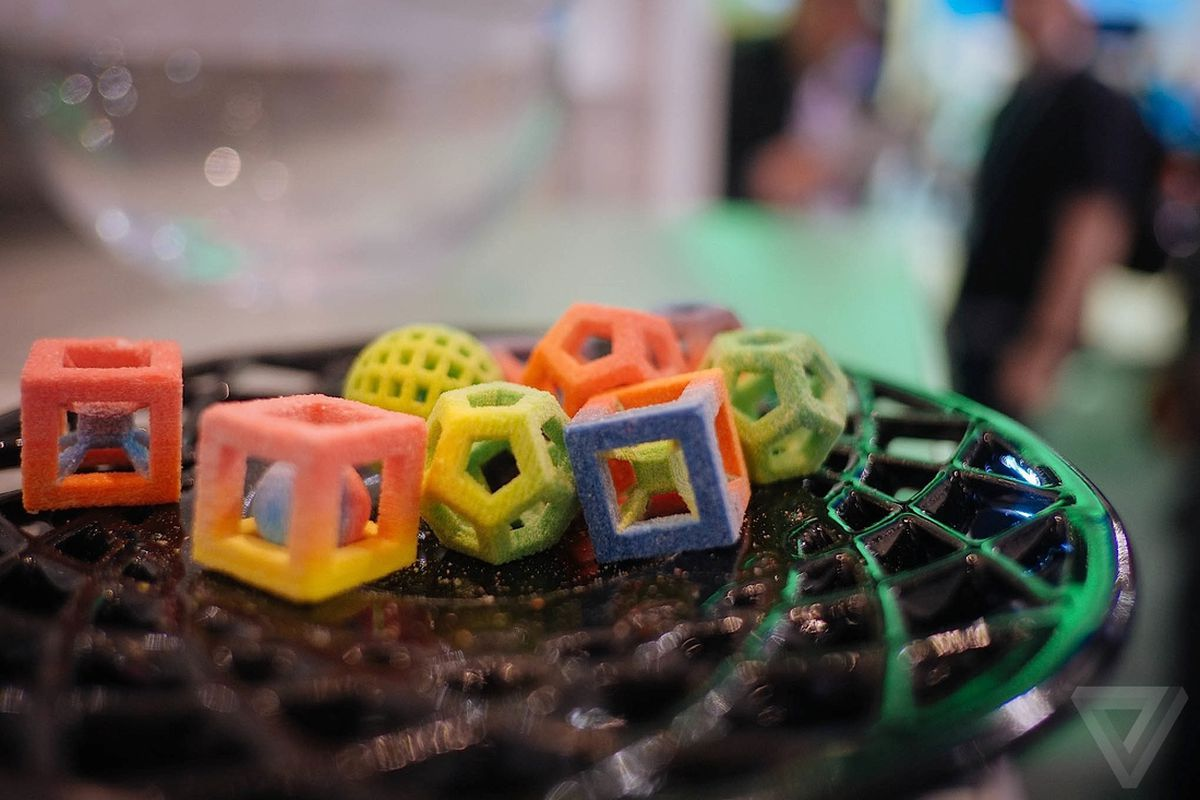 chefjet 3d-printed candy