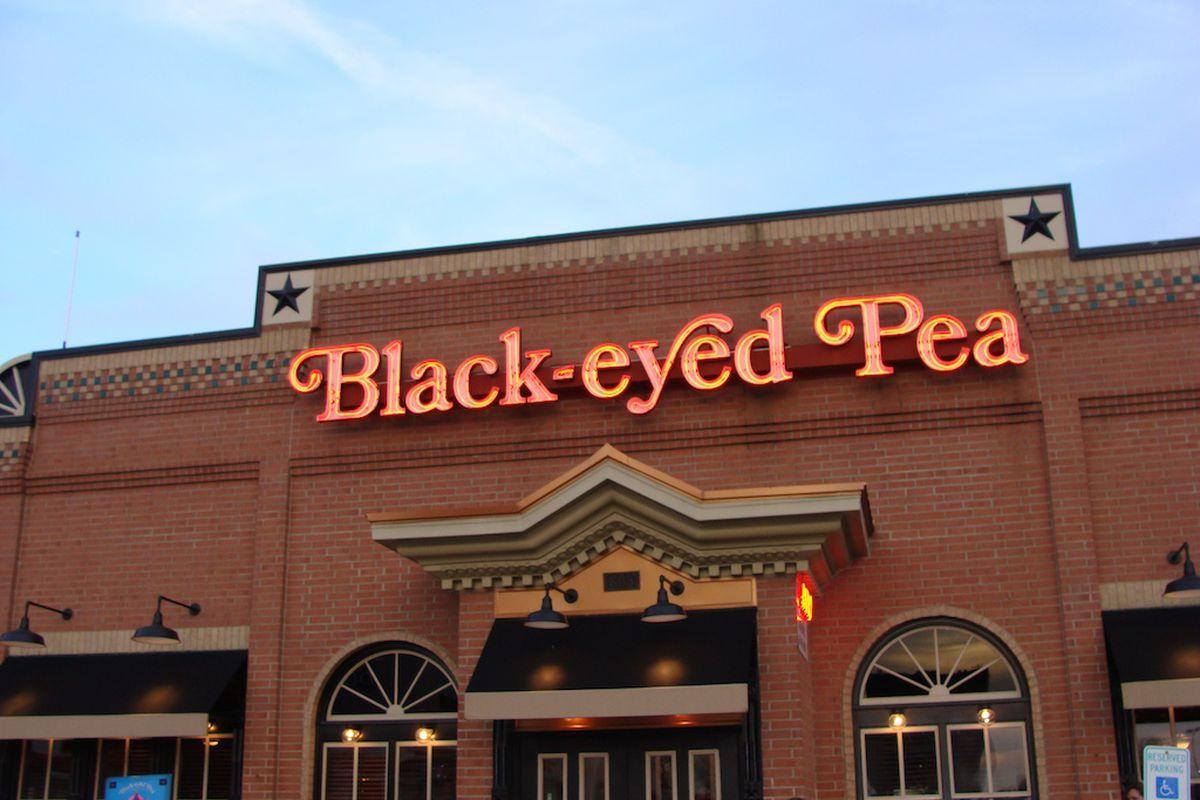 Black Eyed Pea Restaurant San Antonio Menu