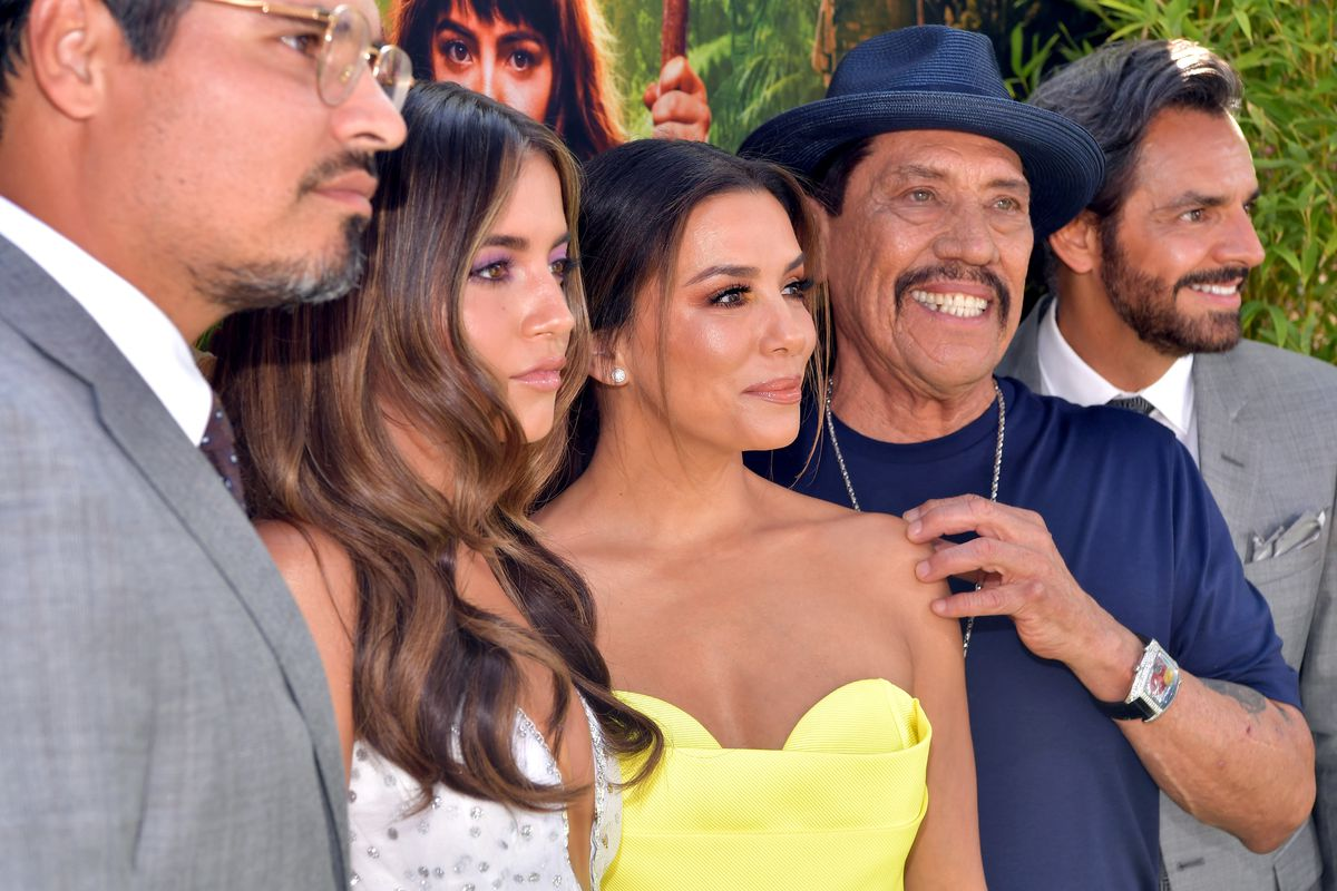 We did it! 'Dora' cast revels in a rare Hollywood film full of