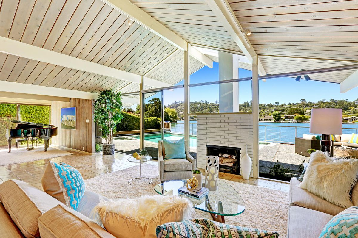 Joseph eichler in belvedere is pretty much everybodys midcentury dream home