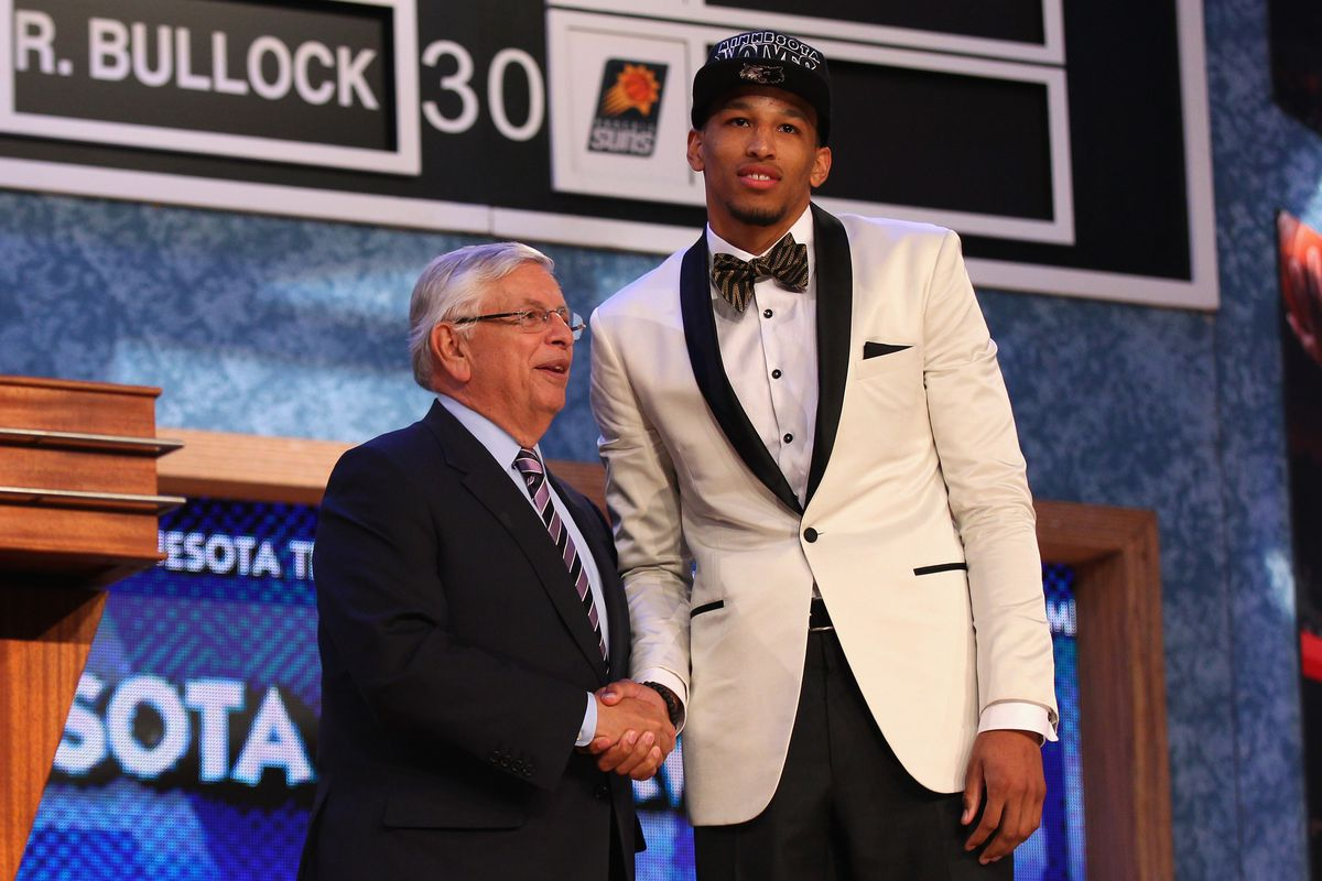 Andre Roberson went 26th overall and after a series of trades ended up on the Oklahoma City Thunder.