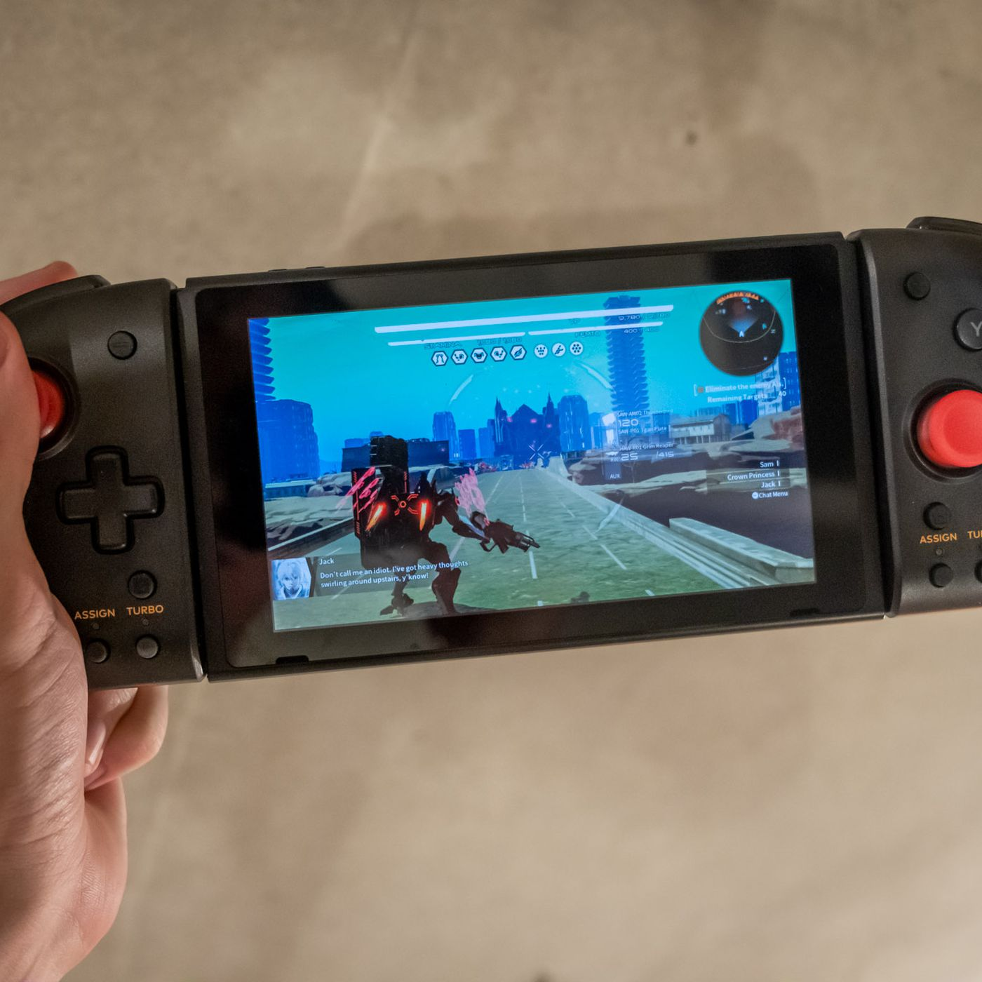 Hori S Split Pad Pro For The Nintendo Switch Gives You A Real Controller On The Go The Verge
