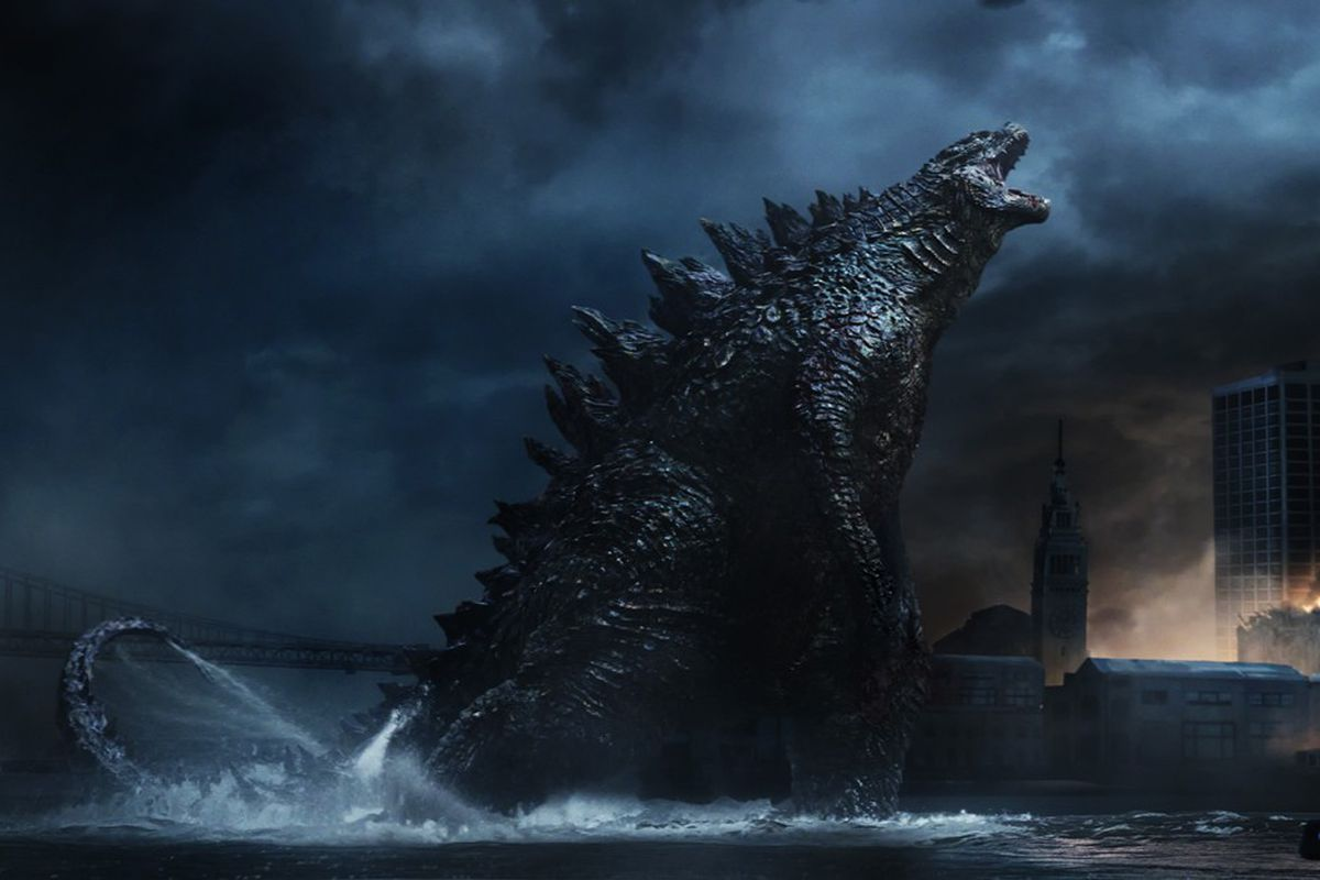 As you can see, Godzilla is big.