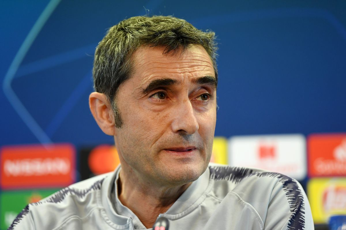 Ernesto Valverde's 14 starters at Barcelona