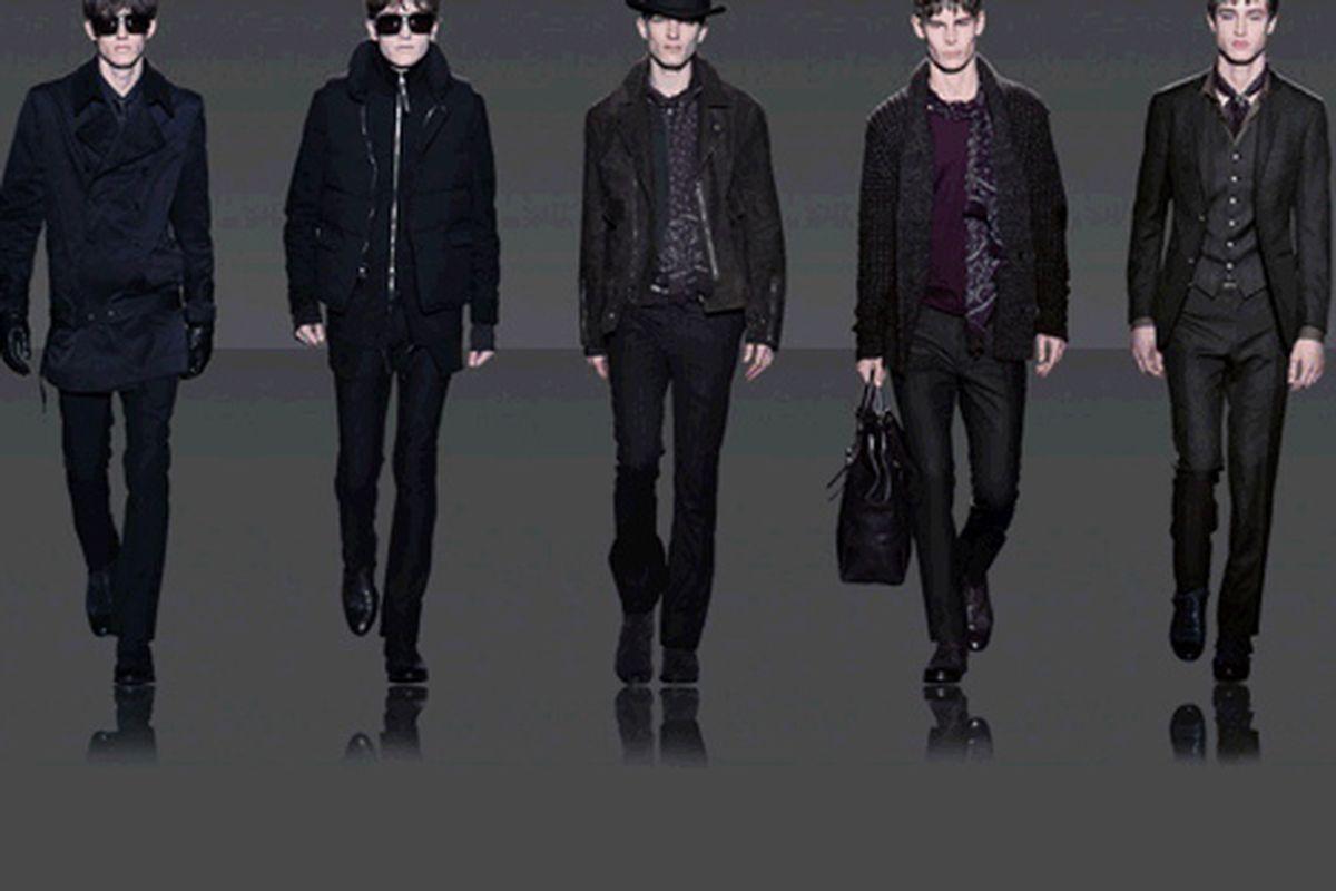 """The boys in the brand. Image via <a href=""""www.johnvarvatos.com"""">John Varvatos</a>."""