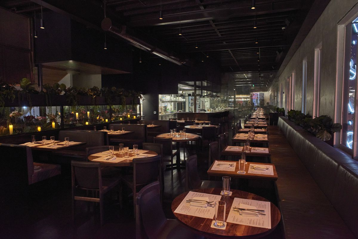 New dining room at E.P.