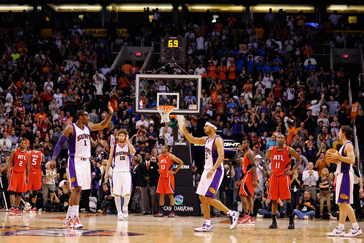 The Phoenix Suns ranked 5th worst in ticket value. (Photo by Max Simbron)