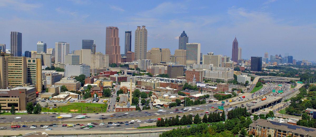 Mercedes Benz Of Buckhead >> A celebration of Atlanta's underrated skyline in 20 drone ...