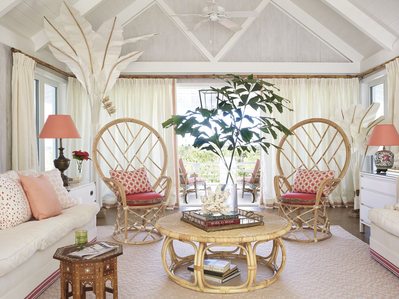 Rattan Woven Furniture From Ikea To Anthropologie Chairs To Chandeliers Vox