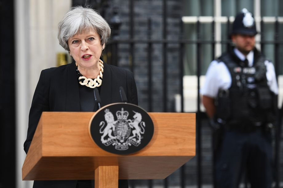 Theresa May: Human rights laws could change for terror fight