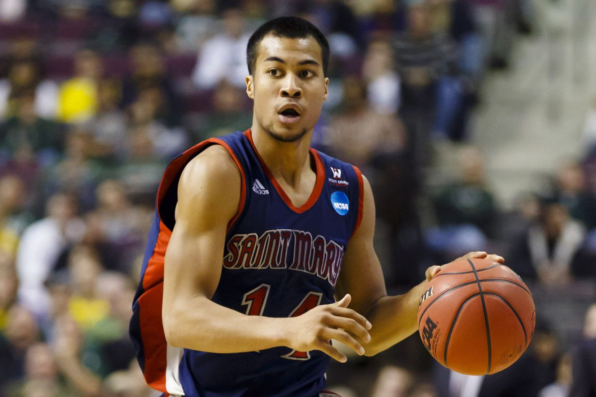 Stephen Holt has the Gaels in a familiar place, just behind Gonzaga.