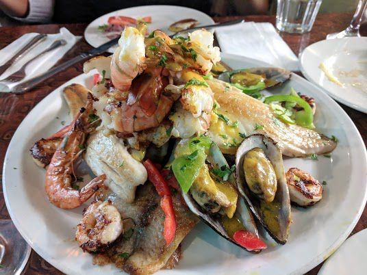 Best seafood restaurants in London: Costa Azul in Elephant and Castle