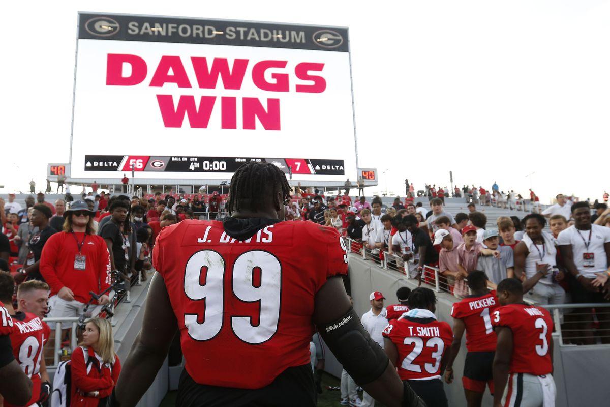 NCAA Football: Alabama-Birmingham at Georgia