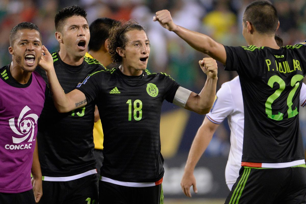 Soccer: Gold Cup-Mexico at Costa Rica