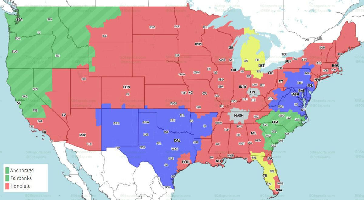 NFL Distribution Maps: What games will you get to see in ... on mmo maps, epic d d maps, metro bus houston tx maps, cool site maps, interesting maps, snes maps, dragon warrior monsters 2 maps, google maps, dvd maps, all the locations of the death camp maps, prank maps, fictional maps, jrpg maps, all of westeros maps, bully scholarship edition cheats maps, made up maps, cartography maps, simple risk maps, fishing maps, house maps,
