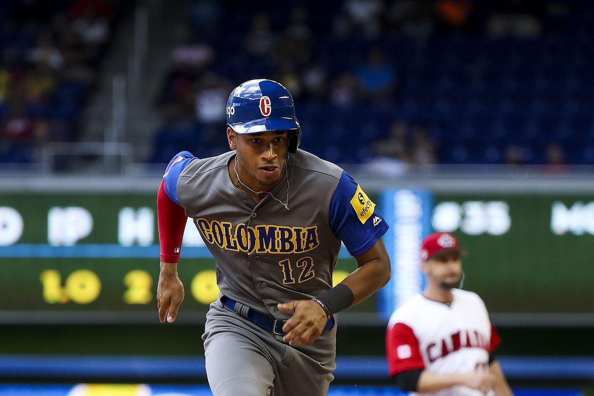 Baseball: World Baseball Classic-Colombia at Canada
