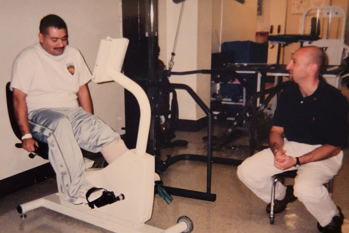 The injuries Jimeno sustained during the Sept. 11 attacks require multiple surgeries and several months of physical therapy to recover from.