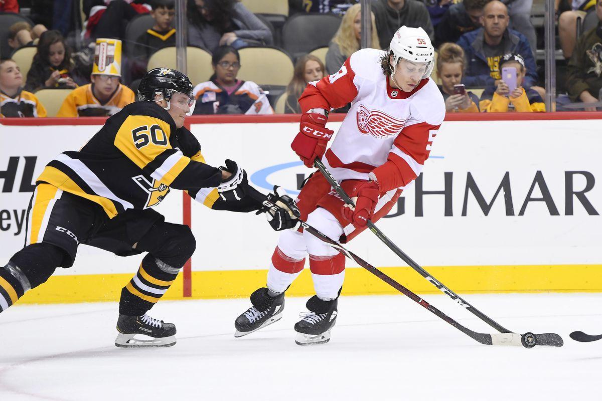 NHL: SEP 23 Preseason - Red Wings at Penguins
