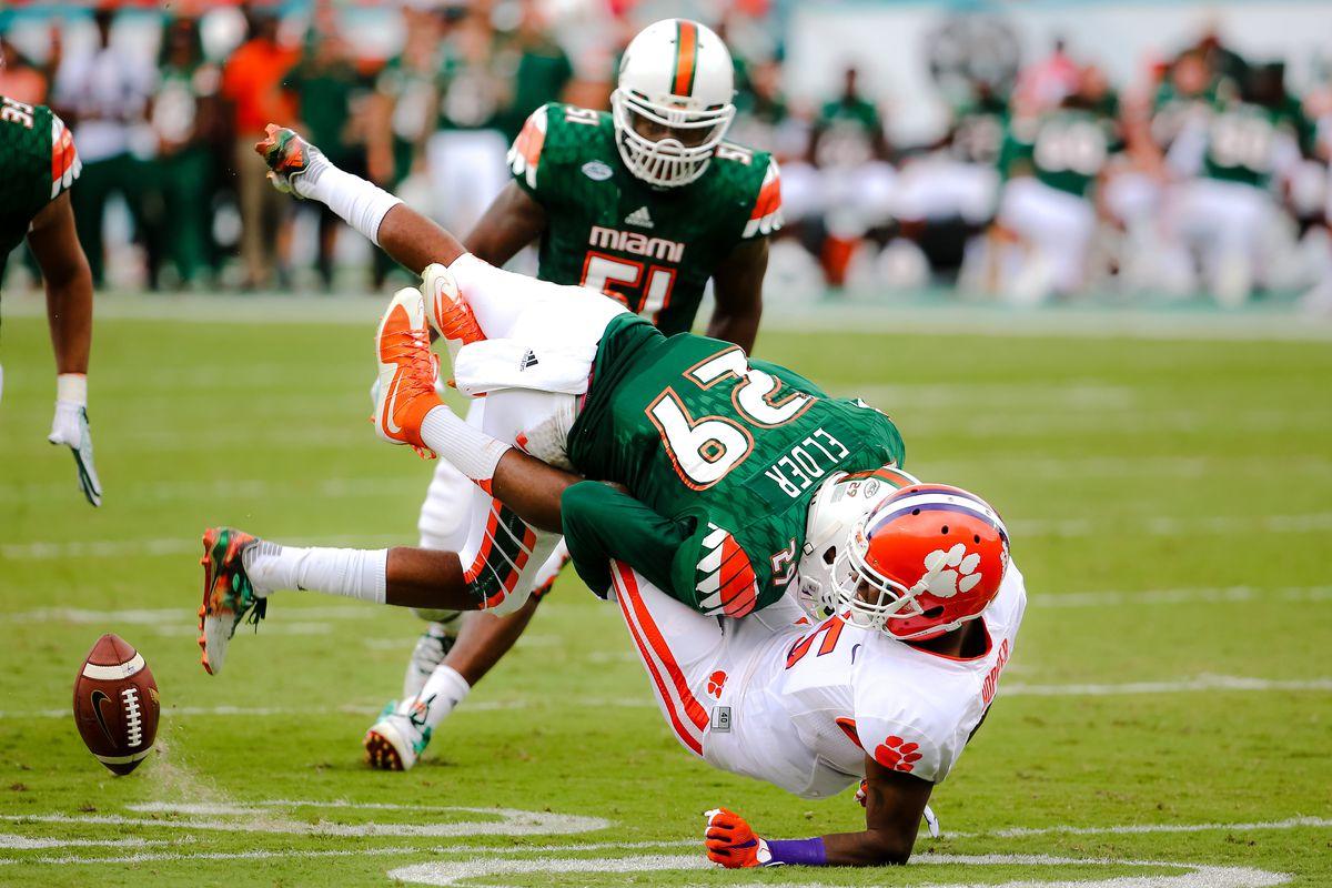 NCAA Football: Clemson at Miami