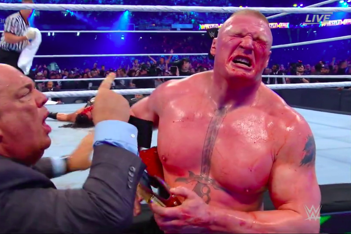 Relive the 5 best moments from WrestleMania 34