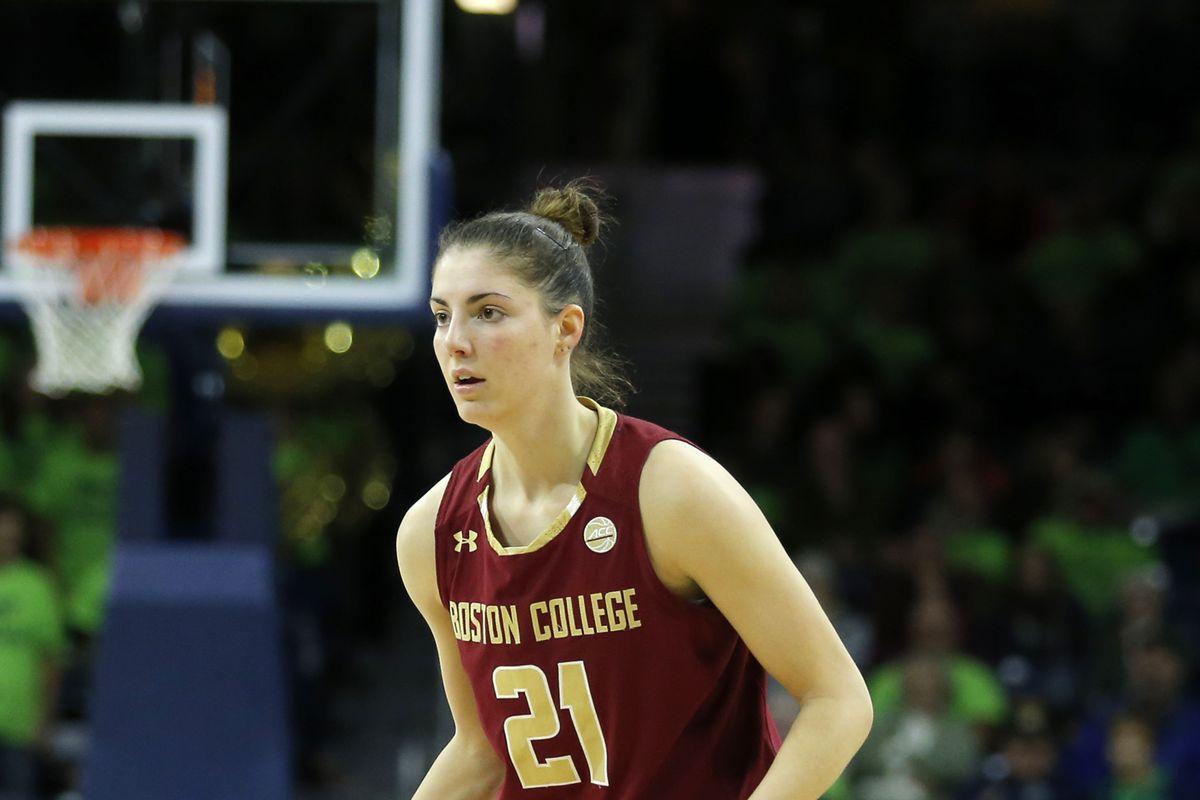 COLLEGE BASKETBALL: JAN 14 Women's - Boston College at Notre Dame