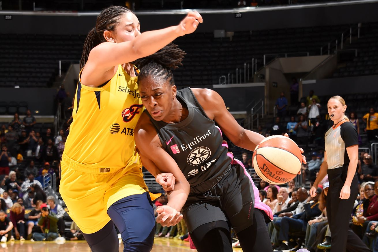 Recap: Sparks rout Fever, secure 8th straight playoff spot