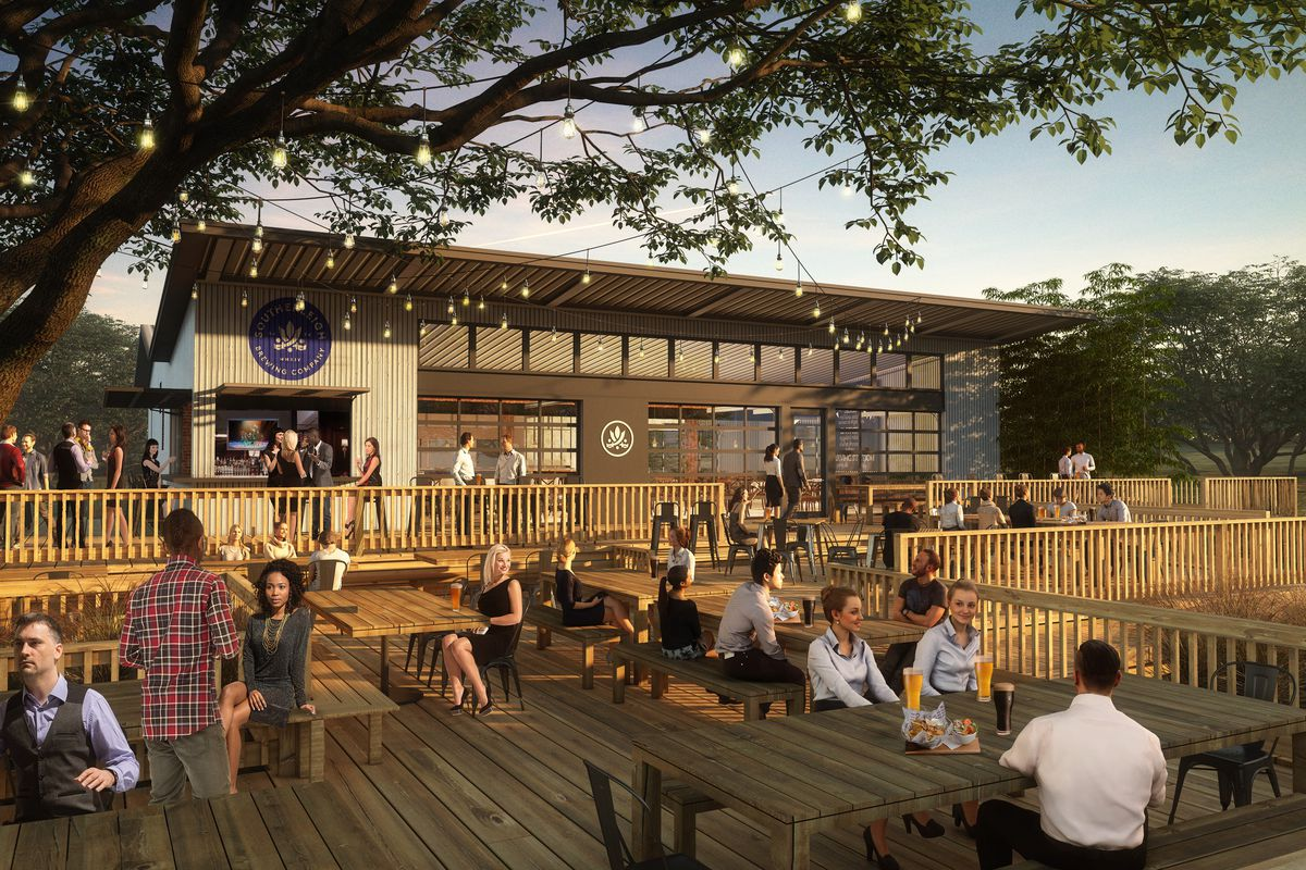 Rendering of the new Southerleigh